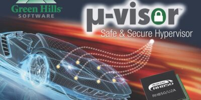 Green Hills Software implements u-visor on RH850/U2A