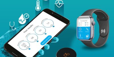 Sensor provides health check via wearables
