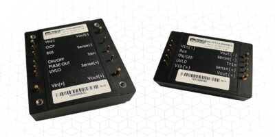 DC/DC converter duo have wide 10:1 ratio