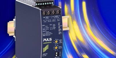 DIN-rail mounted controller from PULS Power bridges fluctuations