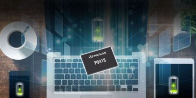 P9418 is industry's first 60W wireless power receiver IC, says Renesas