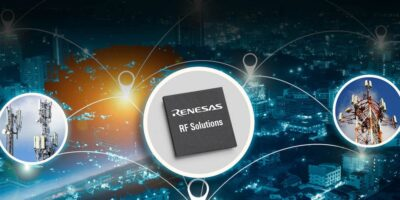 Four RF additions to Renesas portfolio serve macro base transceiver stations