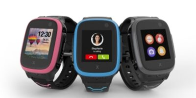 Children's smart watch has gamification feature; tracks physical activity