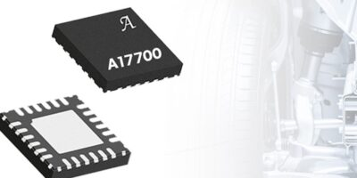Automotive sensor interface IC has flexible interface options