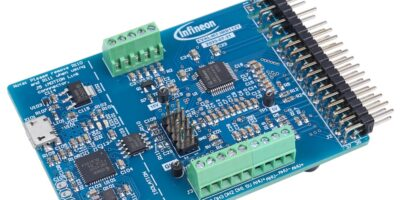 Smart motor controller is based on Infineon's SoI technology