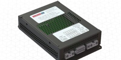 300W DC input range converter complies with rail and industrial standards