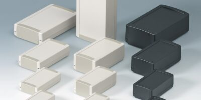Toptec plastic enclosures offer choice of 28 permutations