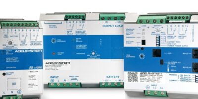 Relec adds CBI DC-UPS DIN rail modules