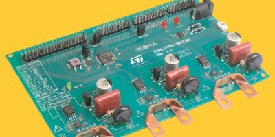 Evaluation board combination computes metrology and power-quality data