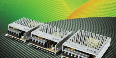 Enclosed AC/DC power supplies from XP Power are rated from 35 to 100W