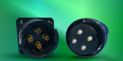 GR connectors have Quadrax contact for harsh environments