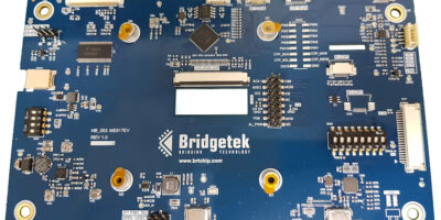 Bridgetek's evaluation hardware uses EVE technology for HMI prototypes