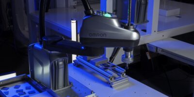 Compact robots by Omron can be used for digital assembly
