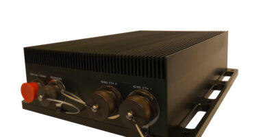 Mil-grade enclosure is selected for software defined radio