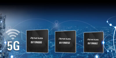 Renesas addresses network synchronisation for 4G/5G radio