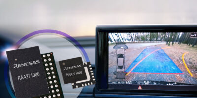 Renesas combines pre-regulator and PMIC for ADAS camera systems