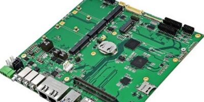 Industrial Mini-ITX carrier is designed for COM Express Type 10 mini modules