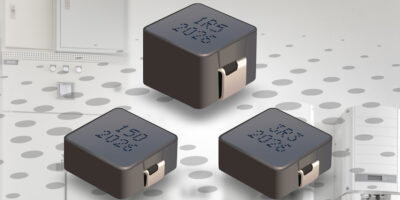 Automotive-grade inductors rely on robust core for high temperature operation
