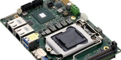Sub-compact board from Aaeon is based on Intel's Comet Lake