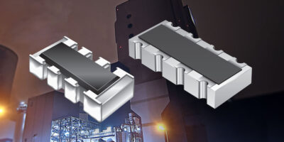 AEC-Q200-compliant thick film chip resistor arrays are sulphur-resistant too