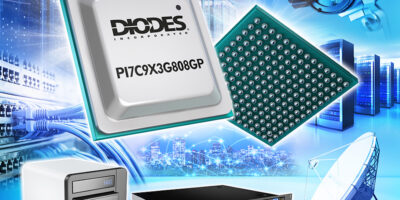 PCIe 3.0 packet switch keeps pace with data centres, says Diodes