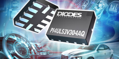 Voltage level shifters from Diodes are designed for automotive systems