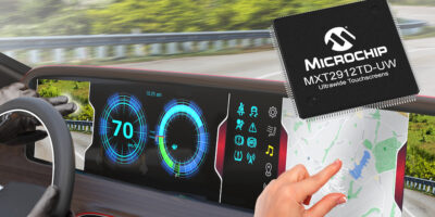 Touchscreen controller eases automotive display integration