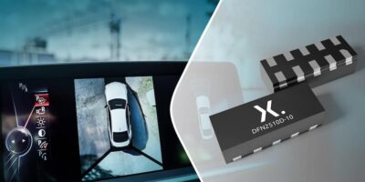 Four-channel ESD protection devices are aimed at vehicle multimedia systems