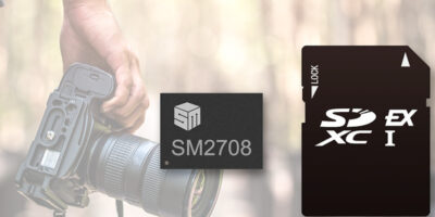 Merchant SD Express controller supports SD 8.0 Specification
