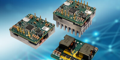 1/16th DC/DC buck converters deliver 750W