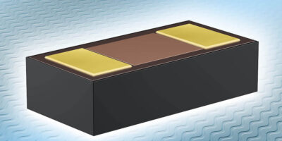 Miniature TVS diodes save space for bi-directional over-voltage protection