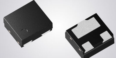 ESD protection diode saves space with wettable flanks