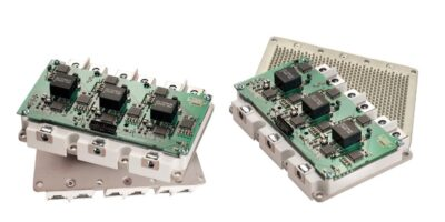 Liquid-cooled models extend SiC IPMs for e-mobility