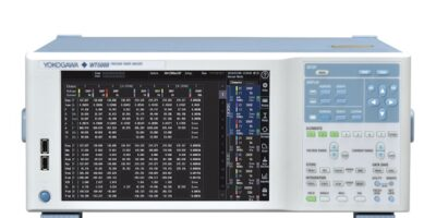WT5000 precision power analyser enhanced with current sensor element
