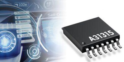 Magnetic position sensor meets ASIL-D for ADAS applications