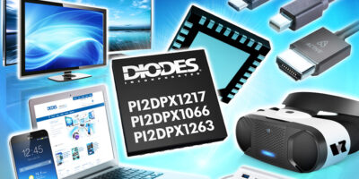 ReDrivers enhance signal integrity for VR equipment, says Diodes
