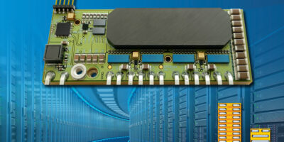 Power conversion demonstration board delivers 1,226W/in3