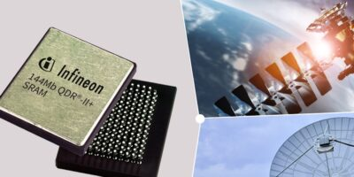 Infineon simplifies satellite image processing with QDR-II+ SRAM