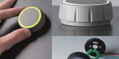 OKW offers LED illumination option on Control-Knobs