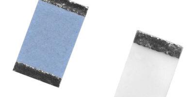 Thin film wraparound chip resistor has more case sizes, says Vishay Intertechnology