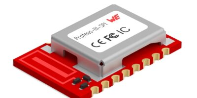 Bluetooth Low Energy 5.1 module quadruples BLE throughput