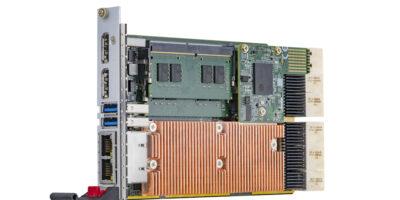 CompactPCI serial processor blade supports hot swap upgrades