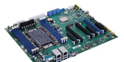 Server-grade ATX motherboard is powered by Gen 3 Intel Xeon for AI and HPC