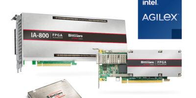 BittWare adds Intel Agilex FPGA-based accelerators for data-intensive compute