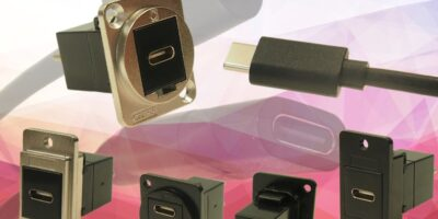 USB-C male to USB-C female cable increases flexibility for data transfer