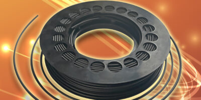 Polymer optical fibre is easier to handle in reels, says OMC