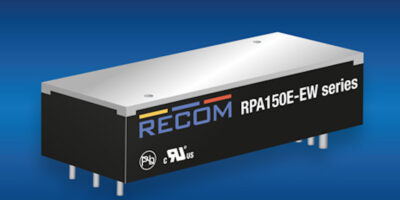 Eighth-brick DC/DC from Recom has 6:1 input