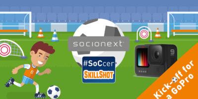 Socionext SoCcer Skillshot Challenge