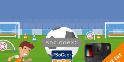 Socionext's #SoCcer SkillShot Euro Challenge