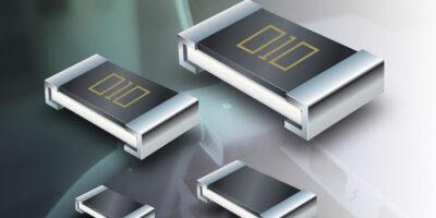 Current sense resistors' smaller packages meet mobile form factors